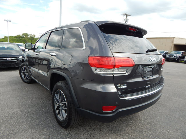 Pre-Owned 2017 Jeep Grand Cherokee LTD 4WD