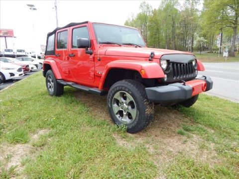 Pre-Owned 2016 Jeep Wrangler Unlimited